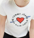 t-shirt particolare tommy